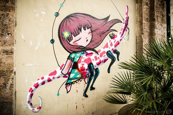Streetart in Valencia