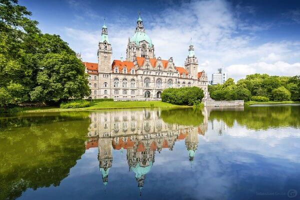 Neues Rathaus Hannover - Sehenswürdigkeit