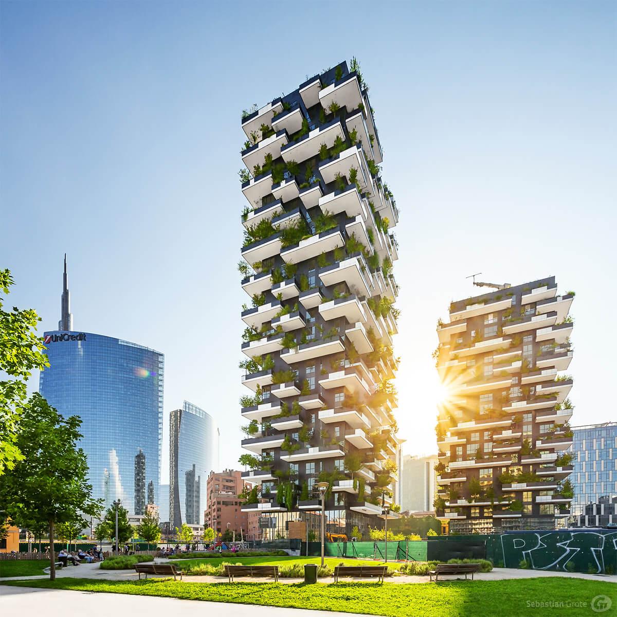 Bosco Verticale - Green Skyscraper