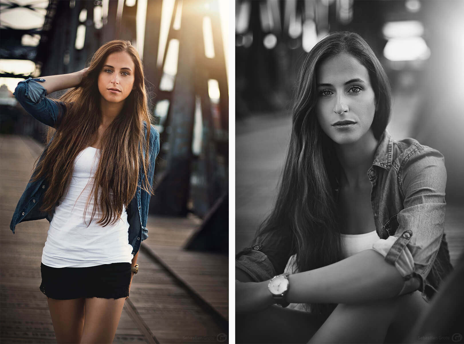 Anna-Lisa 9 und 10 - Shooting in Magdeburg