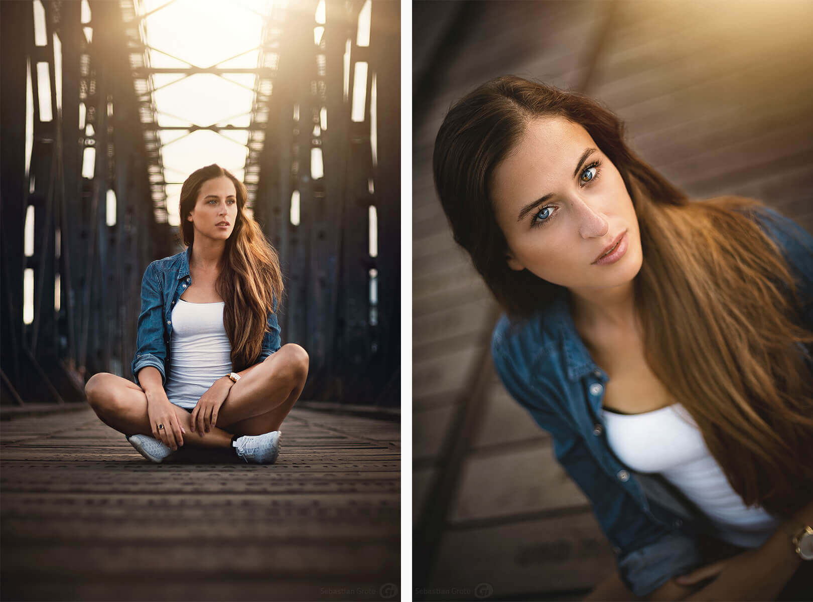 Anna-Lisa 13 und 14 - Shooting in Magdeburg