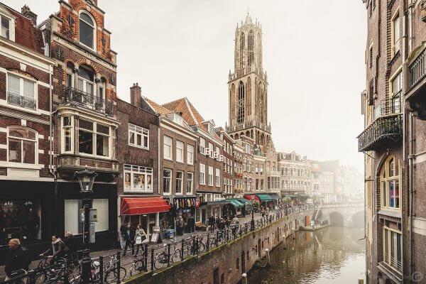 Utrecht im Herbst