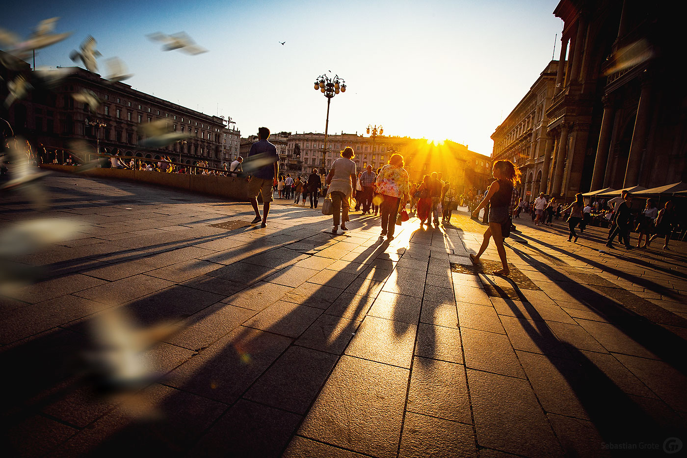 Mailand 3 Piazza del Duomo