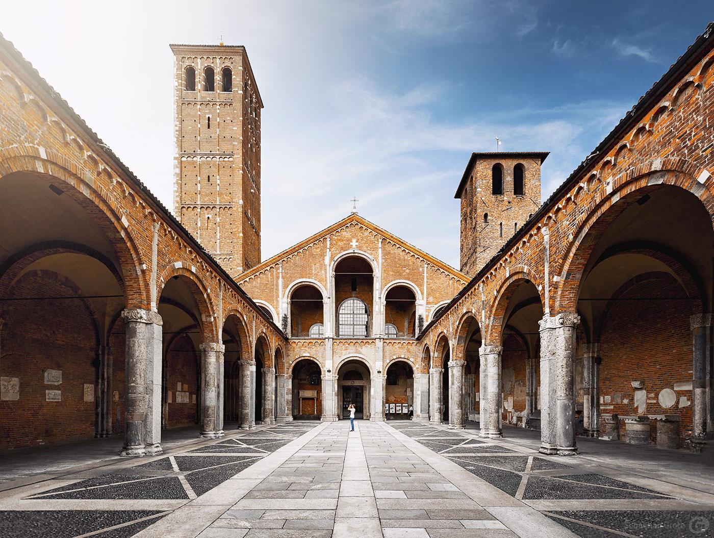 Mailand 9 Basilica di Sant'Ambrogio