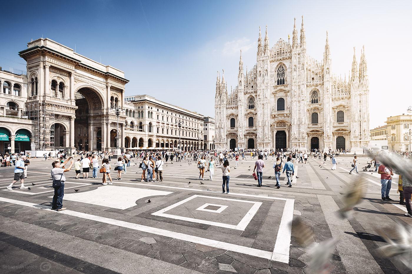Mailand 10 Piazza del Duomo