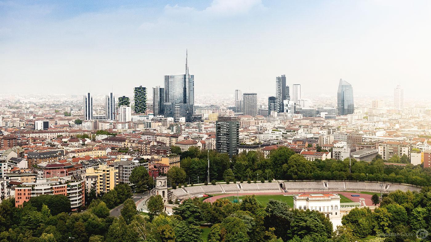 Mailand 11 Panorama