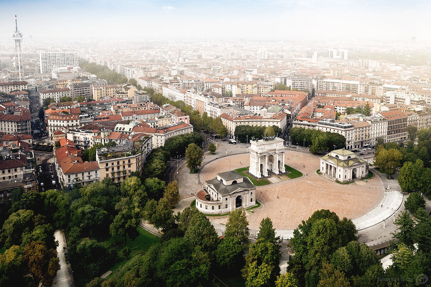 Mailand 12 Panorama