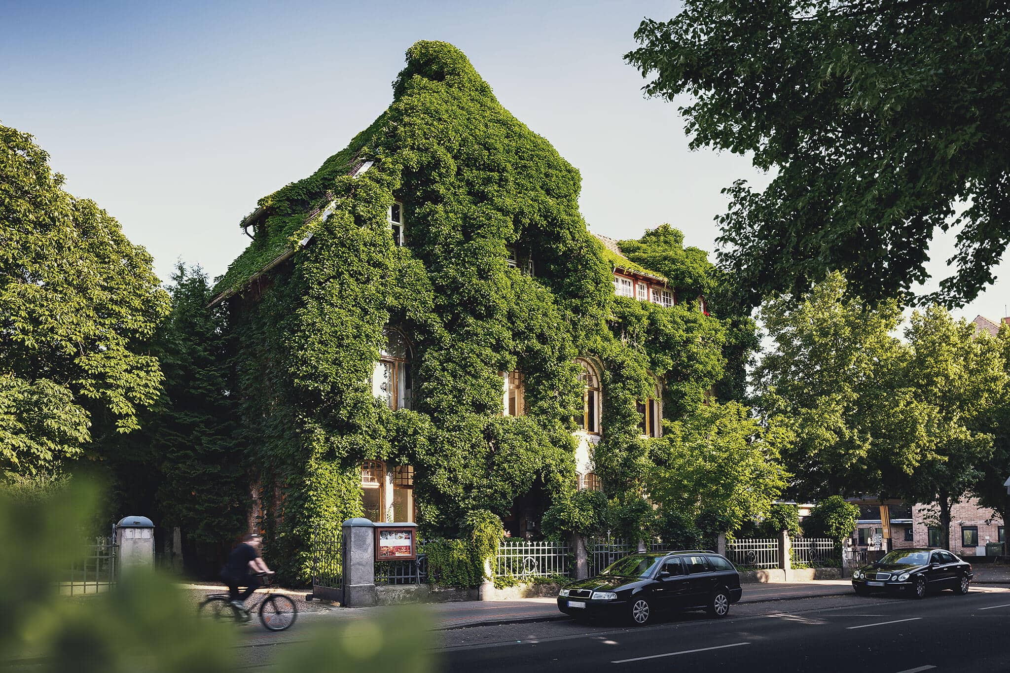 Roneburg, Königsworther Straße - Grüne Stadt Hannover