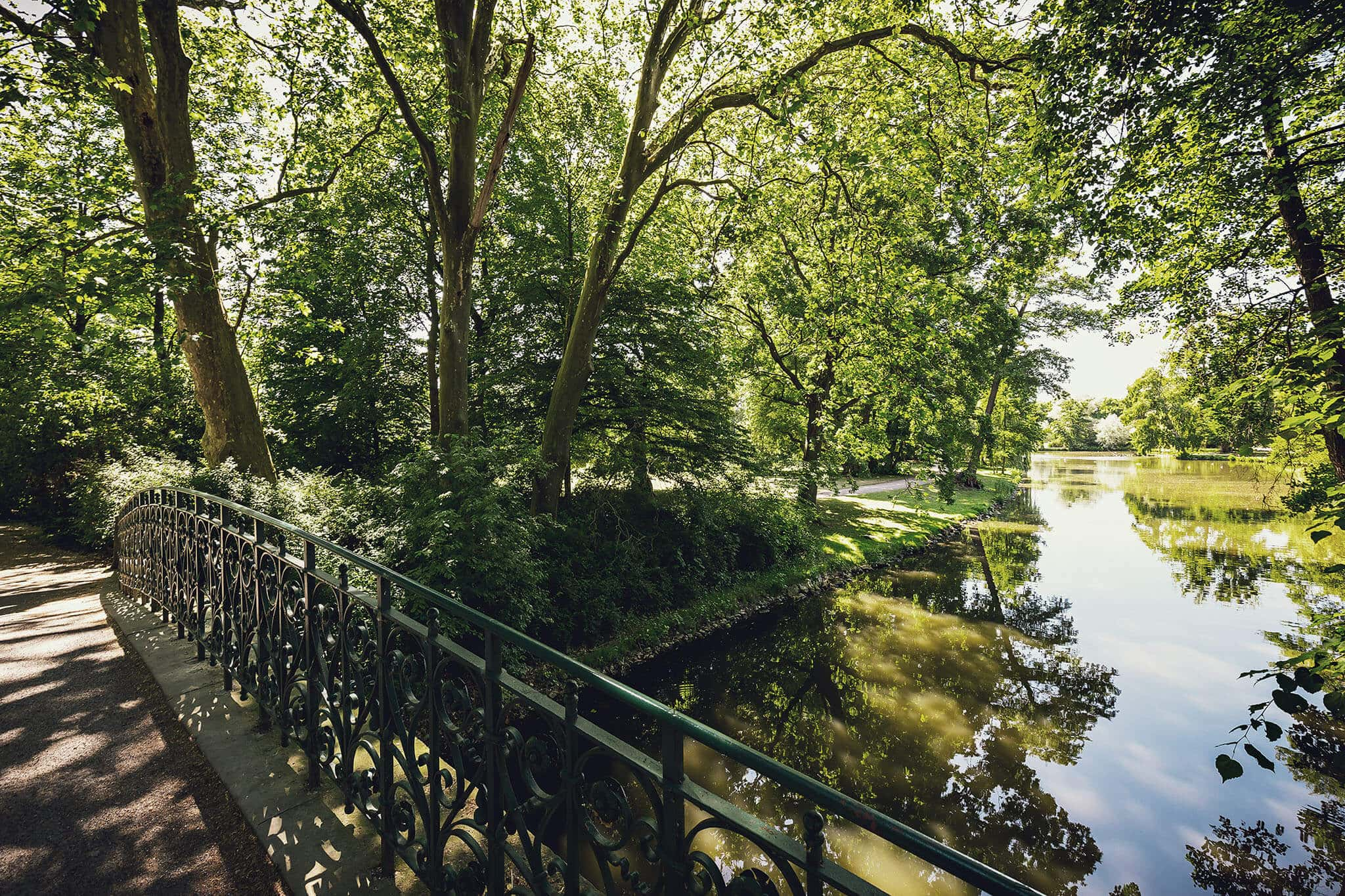 Herrenhäuser Gärten - Georgengarten - Grüne Stadt Hannover