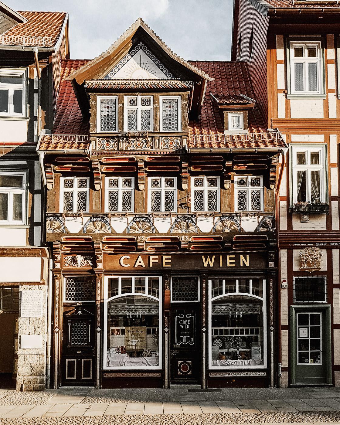 Café Wien in Wernigerode