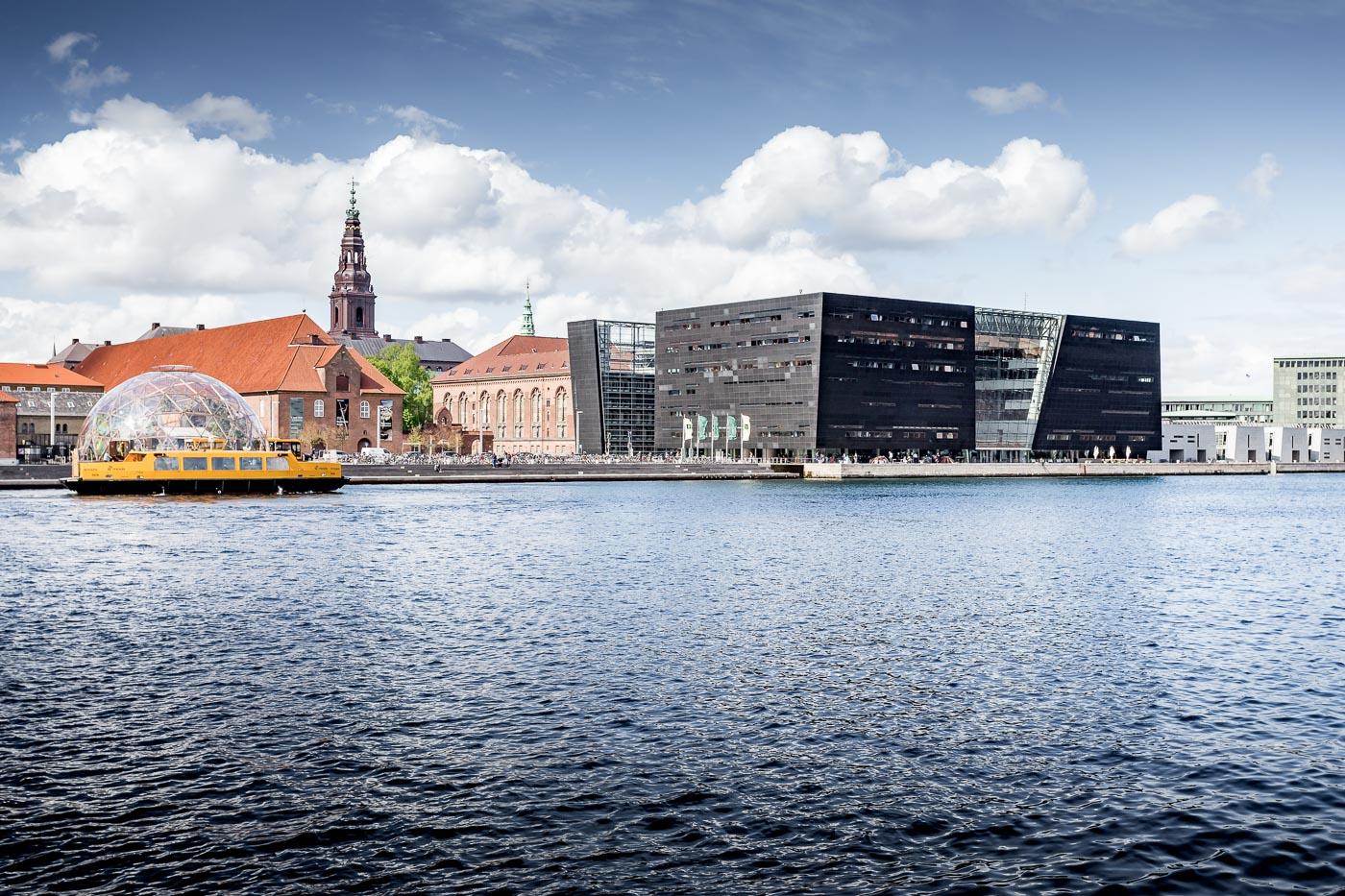 Kopenhagen Bibliothek Den Sorte Diamant, neuer Anbau der Dänischen Königlichen Bibliothek