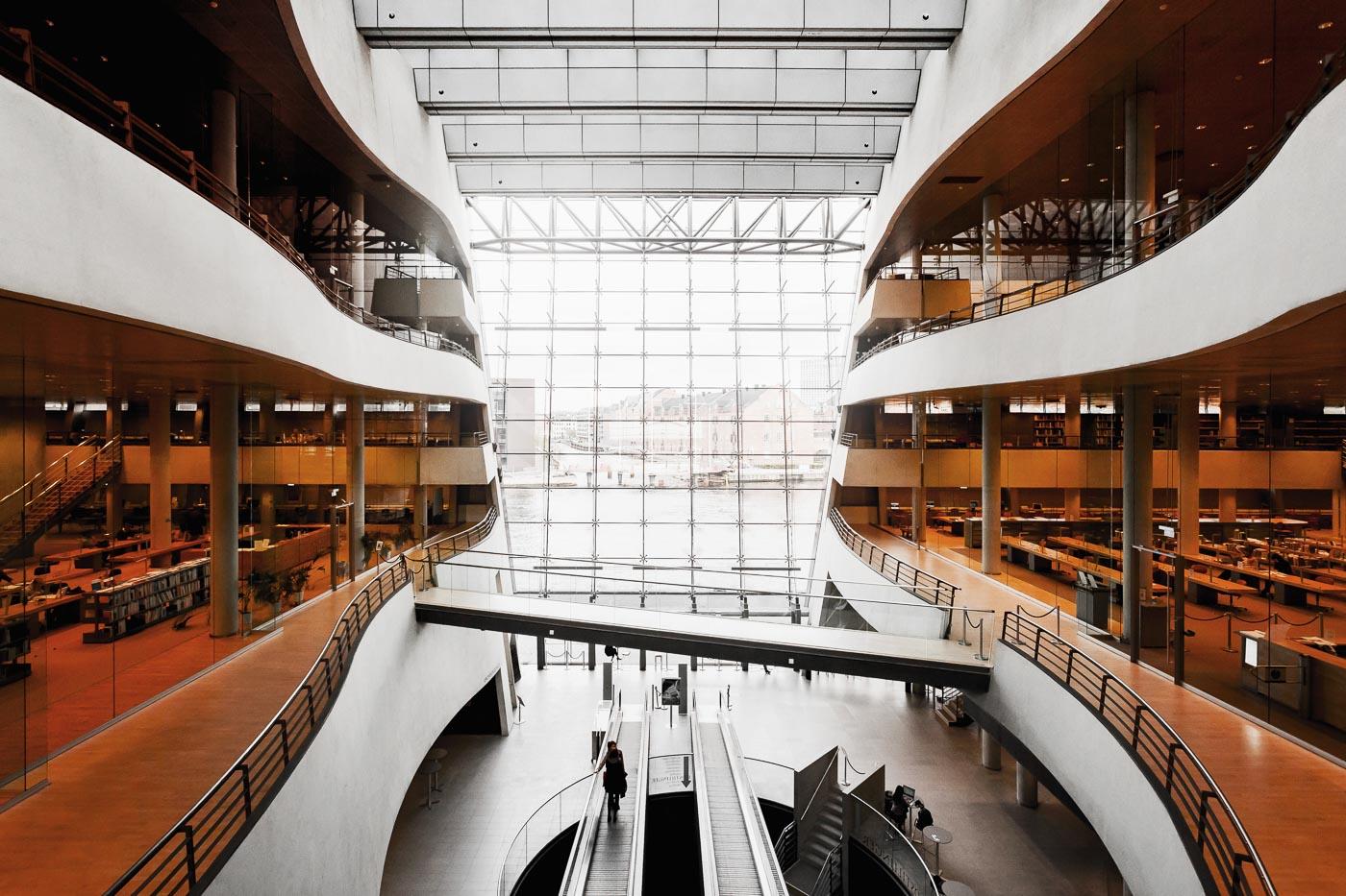 Bibliothek Den Sorte Diamant, neuer Anbau der Dänischen Königlichen Bibliothek