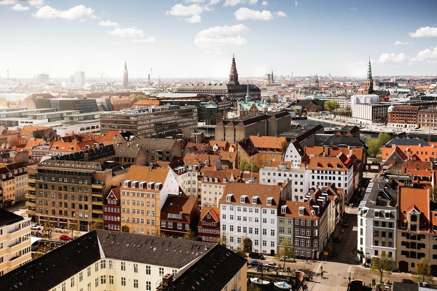 Kopenhagen Panorama von oben