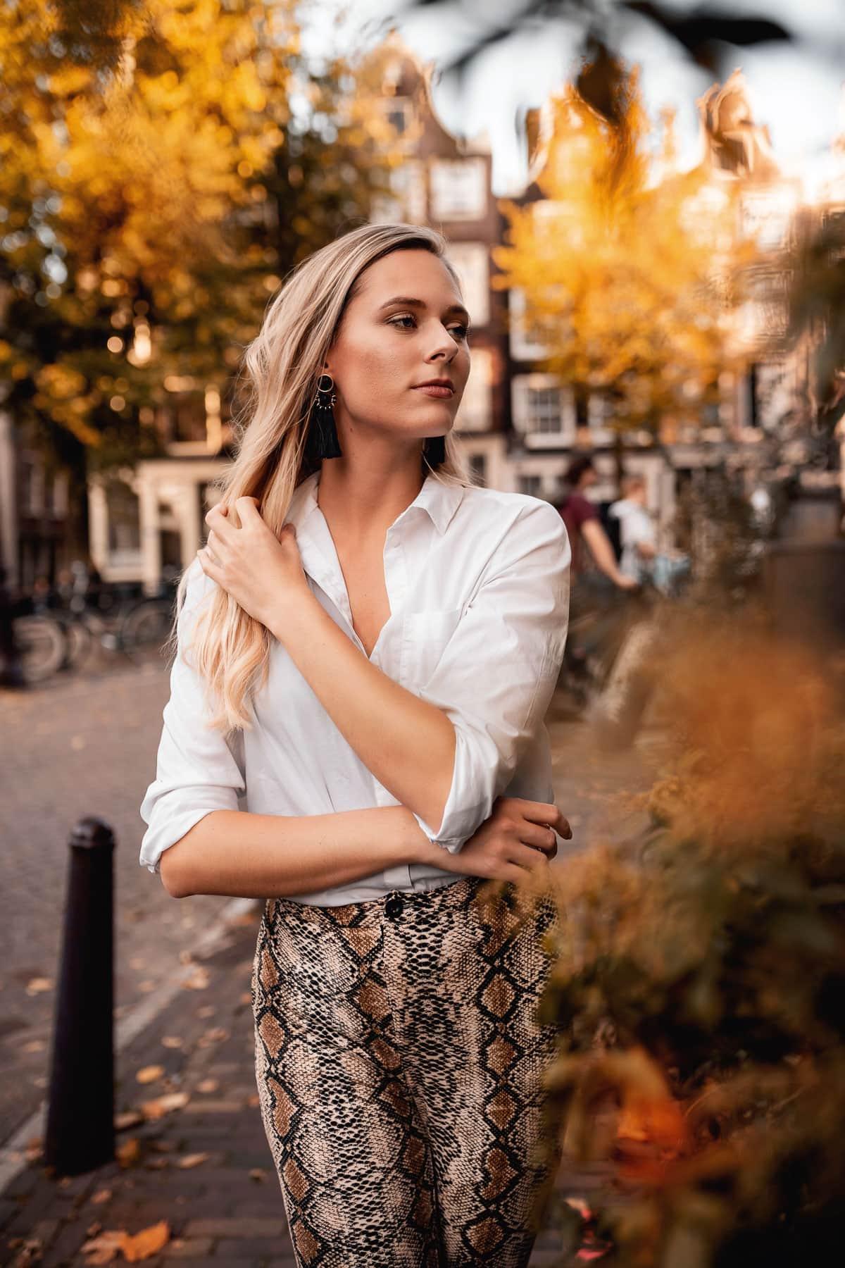 Portrait Shooting in Amsterdam
