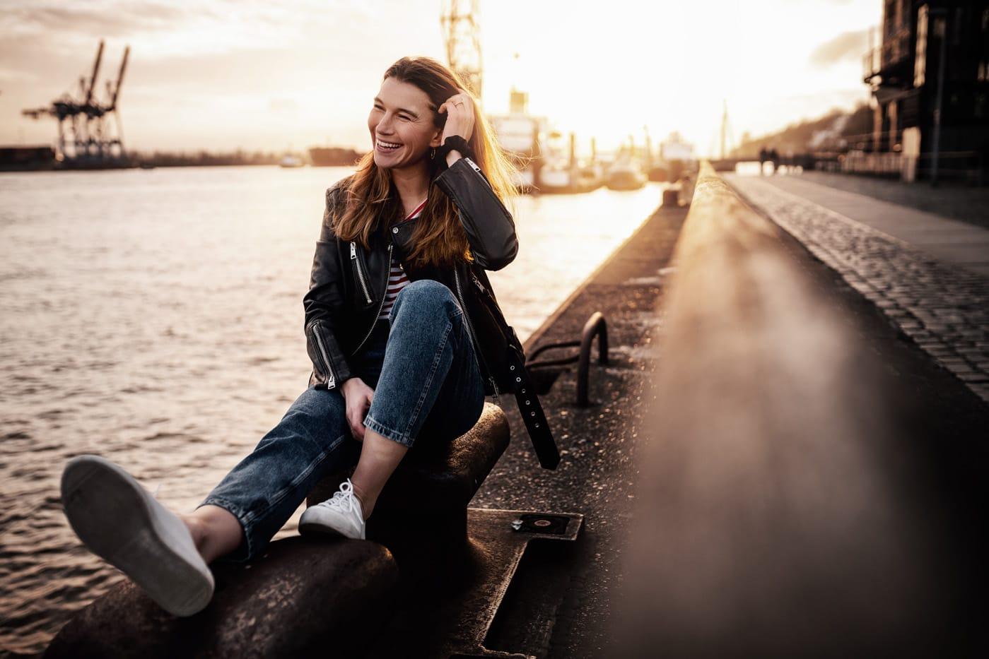 Portraitshooting in Hamburg mit Valerie