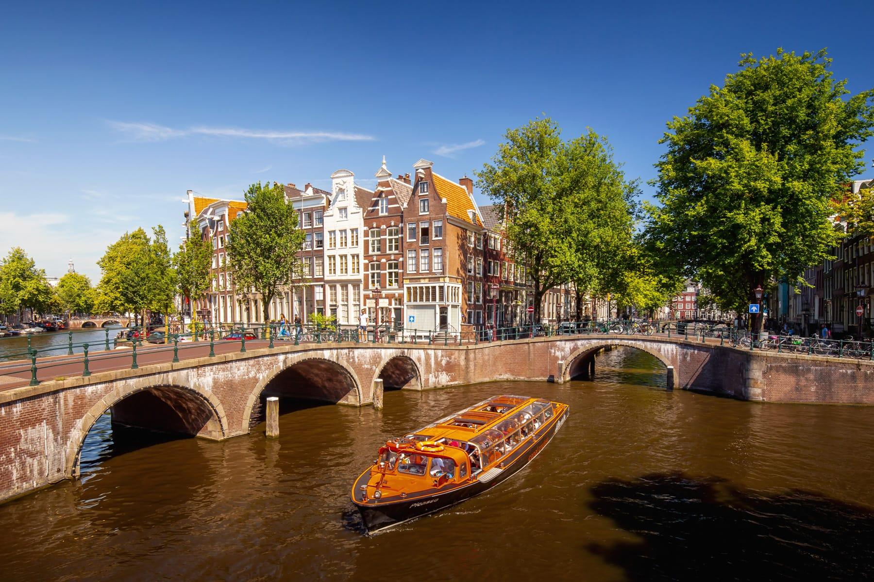 Keizersgracht in Amsterdam, Niederlande