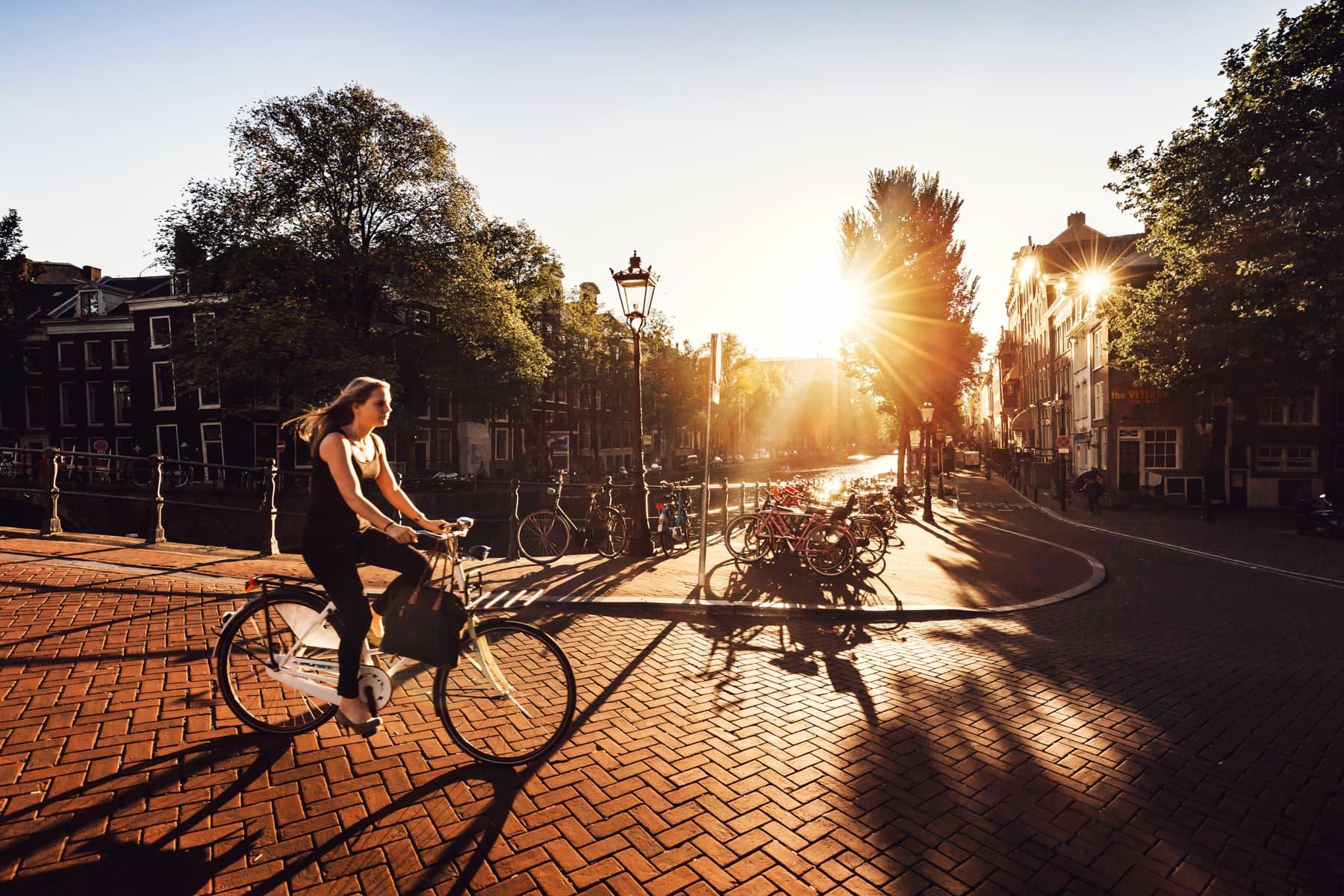 Amsterdam im Sommer