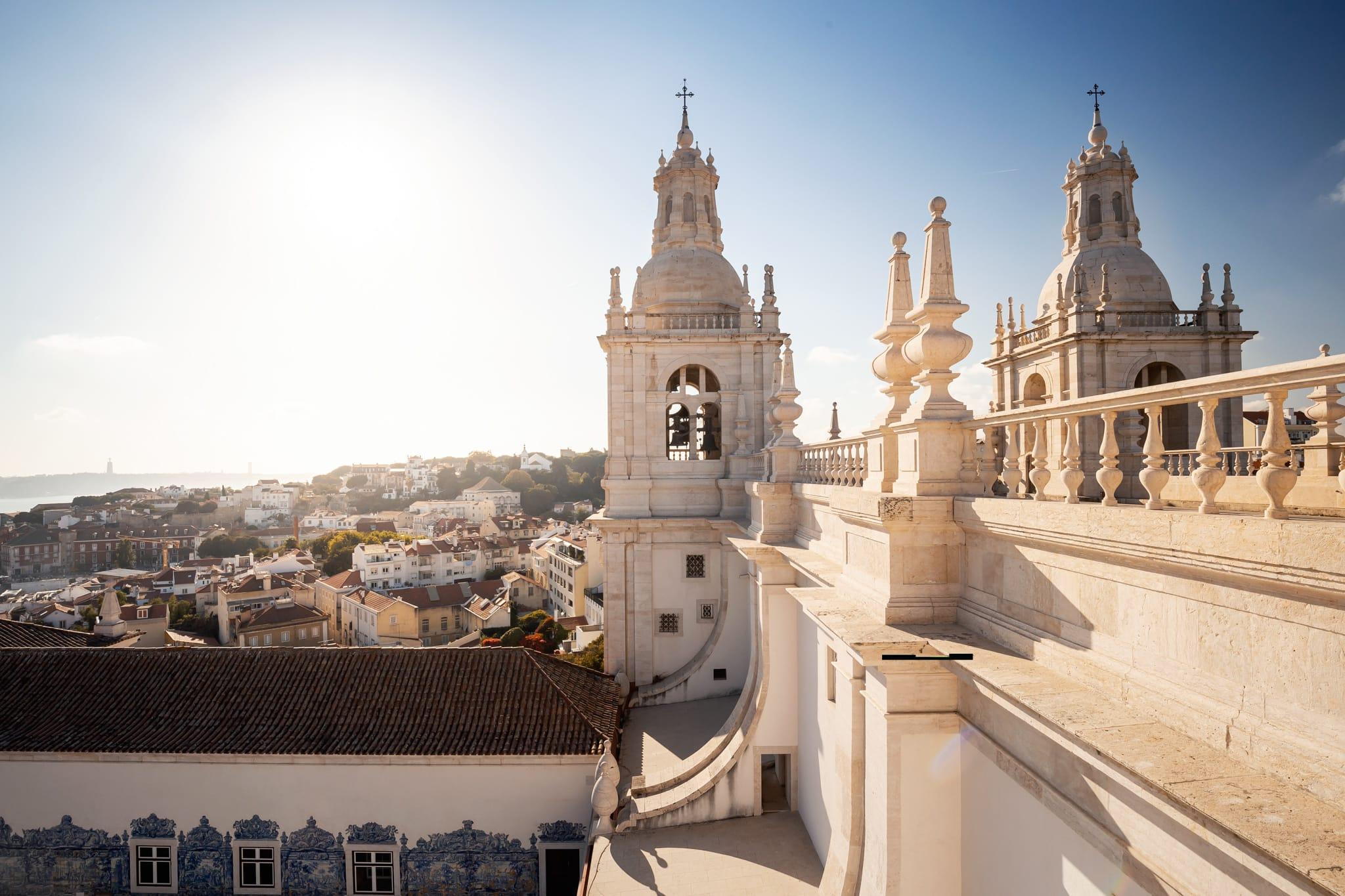 Church of São Vicente de Fora in Alfama, Lissabon, Portugal, Europa